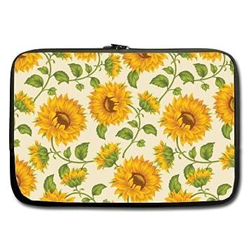 Girasol fondo mejor precio 15.6 inch Laptop/Ordenador portátil/portátil (neopreno, resistente al agua (doble cara, sin correas): Amazon.es: Electrónica