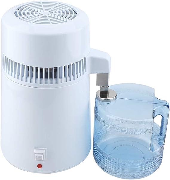 Hongzer Destilador de Agua para encimeras, destilador de Agua 4L ...
