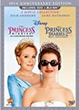 DVD : The Princess Diaries: 10th Anniversary Collection (The Princess Diaries & The Princess Diaries 2: Royal Engagement) [Blu-ray + DVD Combo Pack in DVD Packaging]