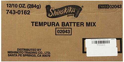 Shirakiku Tempura Batter Mix, 10-Ounce (Pack of 12) by Shirakiku (Image #3)