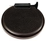 Inflated Stability Wobble Cushion / Exercise Fitness Core Balance Disc (Black),13 inches / 33 cm diameter