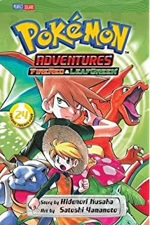 Amazon com: Pokémon Adventures (FireRed and LeafGreen), Vol  25