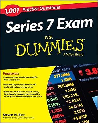 Amazon.com: 1,001 Series 7 Exam Practice Questions For Dummies ...
