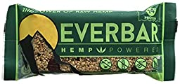 EVER BAR Green Power -Hemp Powered Gluten-Free Bars (Case of 16)