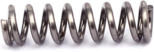 Aexit 0.5mmx3mmx10mm 304 Edelstahl Druckfedern Silberfarben 20st c625b156d4047f3e0114e5756a39cfc6