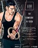 Leo Men's High Waist Slimming Tummy Abs Shaper with
