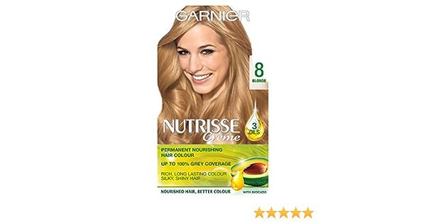 Garnier Nutrisse crema 8 vainilla Rubio