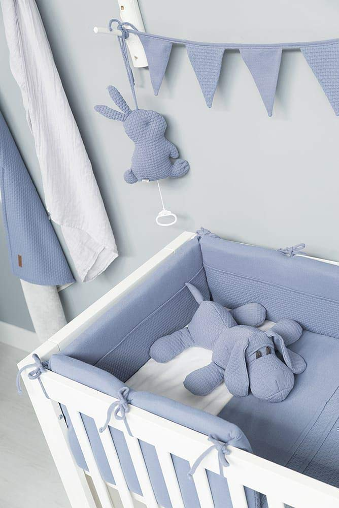 Babys Only Bettnest 180x40 cm Cloud grau