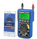 HOLDPEAK 90EPD Digital Auto-ranging Mobile APP DMM Multimeter With Diode And Continuity Test-Measuring DC & AC voltage,DC & AC current,resistance,capacitor,frequency,duty cycle,temperature