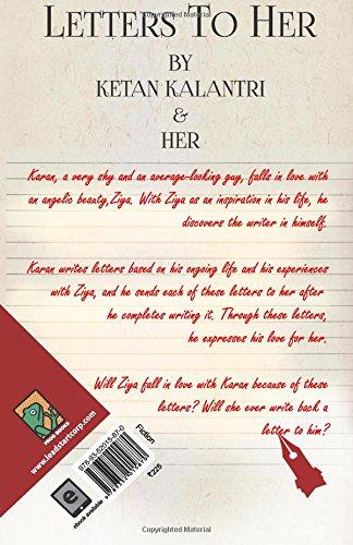 letters to her ketan kalantri 9789352015870 amazoncom books