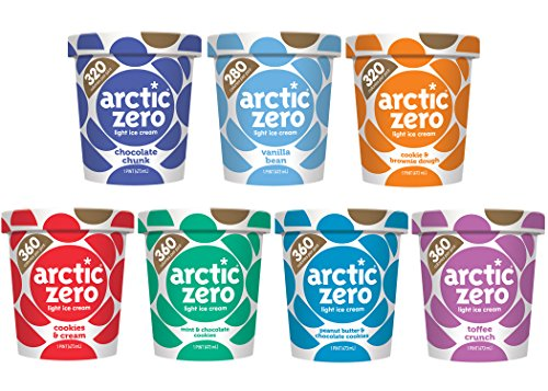 Arctic Zero Variety Pack Bakery and Dessert Gifts, 16 Fluid Ounce (pack Of 7) (Best Arctic Zero Ice Cream Flavors)