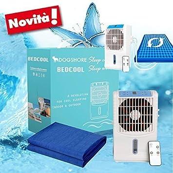 Alfombrilla, colchón, hamaca, refrescante, refrigerante, con bomba de agua y ventilador ionizador (70 x 180 cm): Amazon.es: Hogar