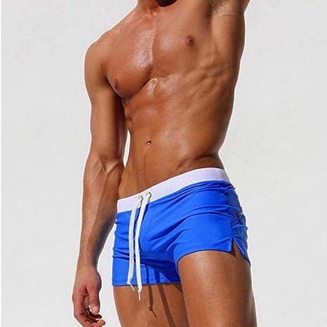 LONGCVRD Verano Nuevo Secado rápido Hombres Pantalones ...