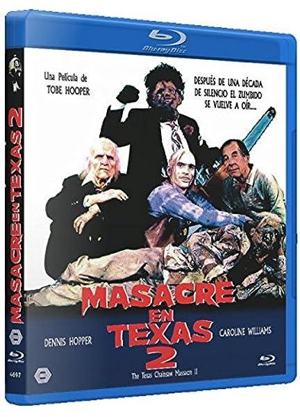 Masacre en Texas 2 BD 1986 The Texas Chainsaw Massacre Part 2 Blu ...