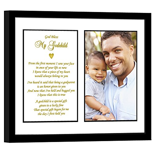 Godchild Gift from Godfather for a Baptism or Birthday - Add Photo