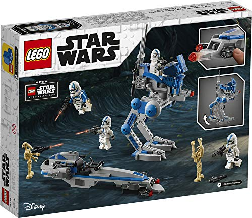 LEGO Star Wars 501st Legion Clone Troopers 75280 Building Kit, Cool Action Set for Creative Play and Awesome Building…