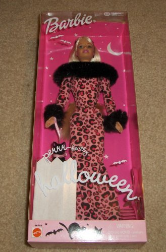 Barbie Halloween Doll with Black Cat Special -