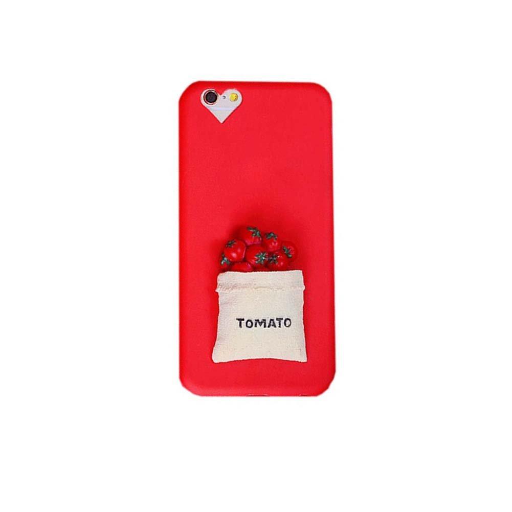 iPhone 7ケースincluside電話シェル、トマトB071YF2QKM