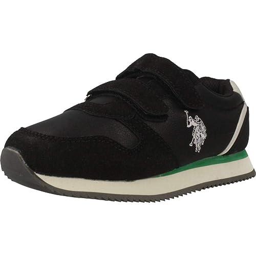 Zapatillas para niño, Color Negro, Marca POLO, Modelo Zapatillas para Niño POLO SUNNY1 Negro: Amazon.es: Zapatos y complementos