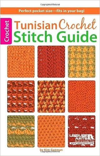 Tunisian Crochet Stitch Guide Kim Guzman 8601200593662 Amazoncom