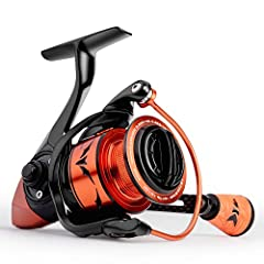 The New KastKing Speed Demon Pro spinning reel was made for high speed, consistent, and smooth operation. This is the fastest gear ratio spinning reel available today! It turns the odds in your favor when facing tough conditions that require ...