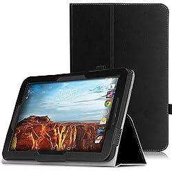 MoKo Verizon Ellipsis 10 Case - Slim Folding Cover Case for Verizon Ellipsis 10 2015 Tablet (NOT FIT 2017 Verizon Ellipsis 10), BLACK