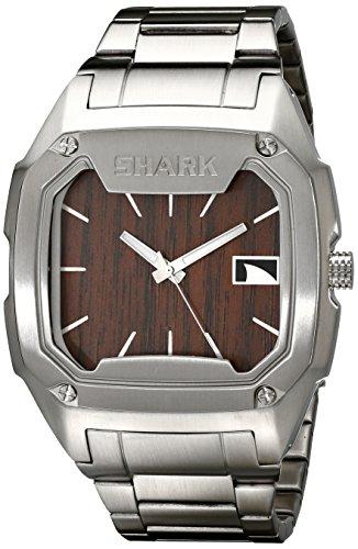[Freestyle Men's 101987 Shark Case Brown Dial Bracelet Watch] (Brown Shark Watch)