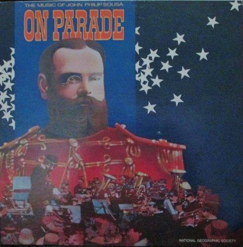 Baumgartens Vinyl (John Philip Sousa The Magic Of John Philip Sousa On Parade Original National Geographic Society Records Stereo release 07808 1970's Marching Parade Music Vinyl (1978))