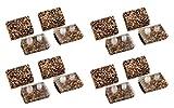 4) Hayward Ultra Cork Pod Shoes Swimming Pool Navigator Vacuum Kits | AXV413P