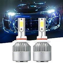 9006 LED Headlight Bulbs, LinkStyle 2Pcs 6000K Cool White LED Headlight Fog Light Cree Bulbs 36W 3800LM Conversion Kits