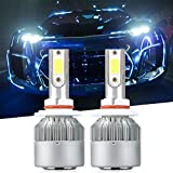 9006 LED Headlight Bulbs, LinkStyle 2Pcs 6000K Cool White LED Headlight Fog Light Cree Bulbs 36W 3800LM Conversion Kits