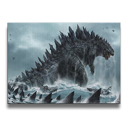 Godzilla Frameless Paintings 1620 Inches Home Decor Painting Stylish White Christmas Decor Decorations Gifts