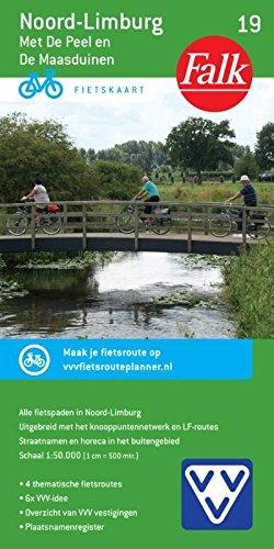 Limburg Noord Midden 19 Cycle Map  Met Rijk Van Nijmegen  Falkplan Fietskaart Band 19