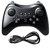 Cheap Findway® Dual Analog Wireless Joystick Game Pad Controller for Nintendo Wii U Pro Black