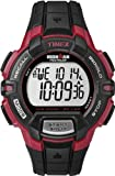 Timex Men's Quartz Watch with LCD Dial Digital Display and Black Resin Strap T5K792
