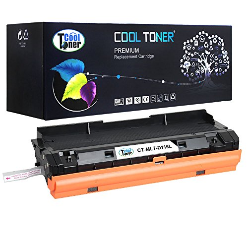 Cool Toner 1 Pack 3,000 Pages Compatible Samsung MLT-D116L MLT D116L MLT-D116S MLT D116S Toner Cartridge For Samsung Xpress SL-M2825DW SL-M2835DW SL-M2875FW SL-M2875FD SL-M2885FW SL-M2625D Printer