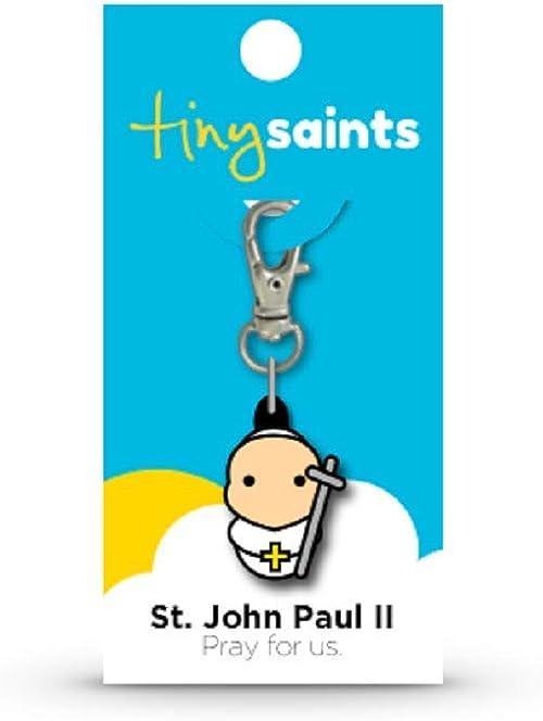 Tiny Saints St John Paul II Charm