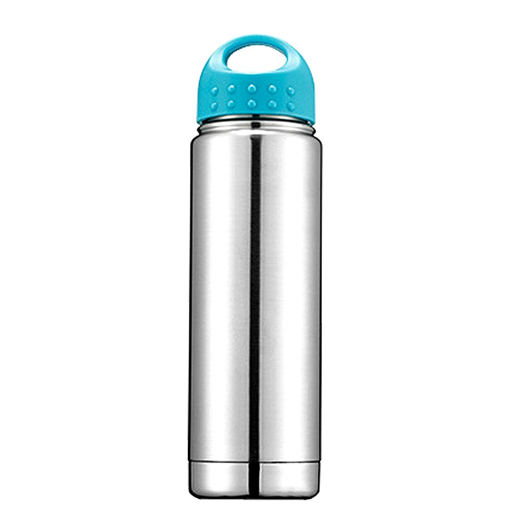18//8 Stainless Steel Water Bottles Vacuum Insulated Reusable for Outdoor Sports Travel 500ML//17OZ By Pustor