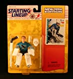 : ARTUS IRBE / SAN JOSE SHARKS 1994 NHL Starting Lineup Action Figure & Exclusive Collector Trading Card