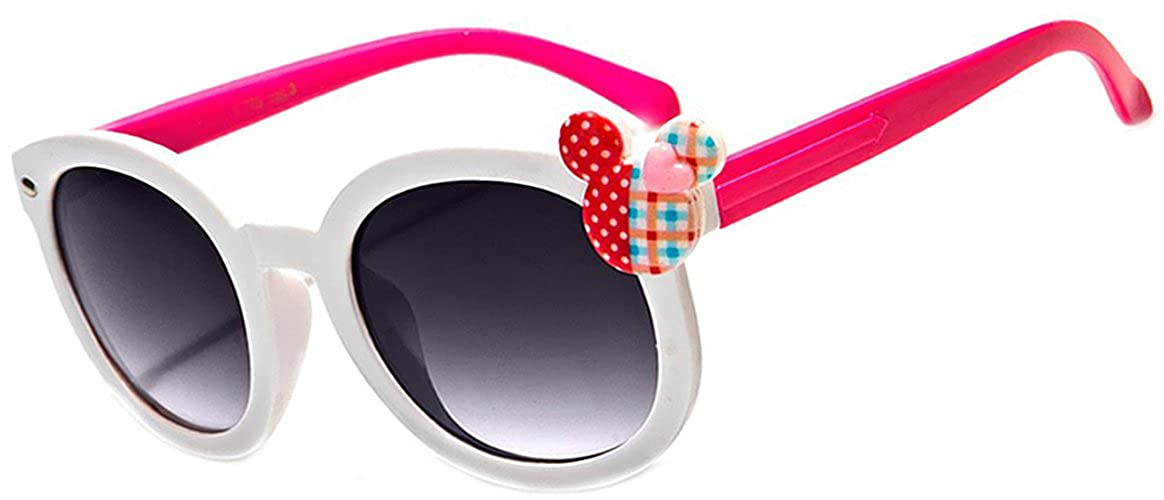 e3f3bf27e8 ... Kitty Cat Whiskers Ears Frame Kid s Fashion UV 400.  6.96. Little Girl  Cute Outfit Accessory Mouse Ears Grey Lens Kids UV400 Sunglasses - Ages 3-