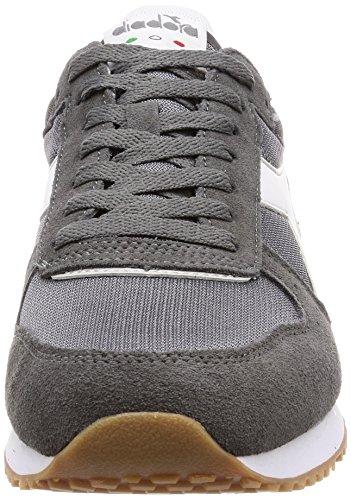 Men's Gr Grey Gr Shoes Gymnastics Diadora Alluminio Acciaio Malone Bianco UXxOwqq7