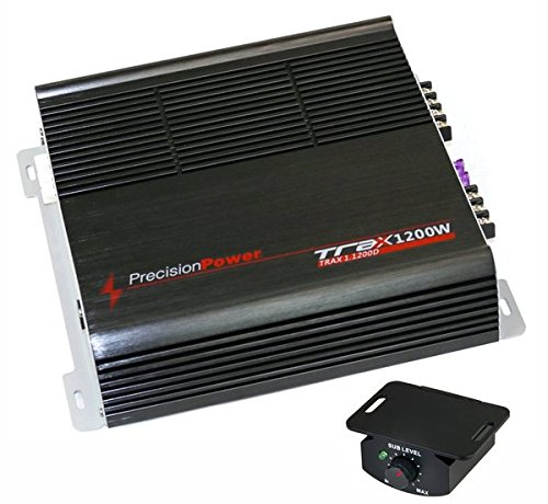precision TRAX11200D Power 1200W Mono Car Amplifier