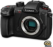 PANASONIC LUMIX GH5S Body 4K Digital Camera, 10.2 Megapixel Mirrorless Camera with High-Sensitivity MOS Sensor, C4K/4K UHD 4