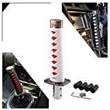 Best Shifter Knobs - Short Samurai Sword Shift Knob Shifter Metal Weighted Review