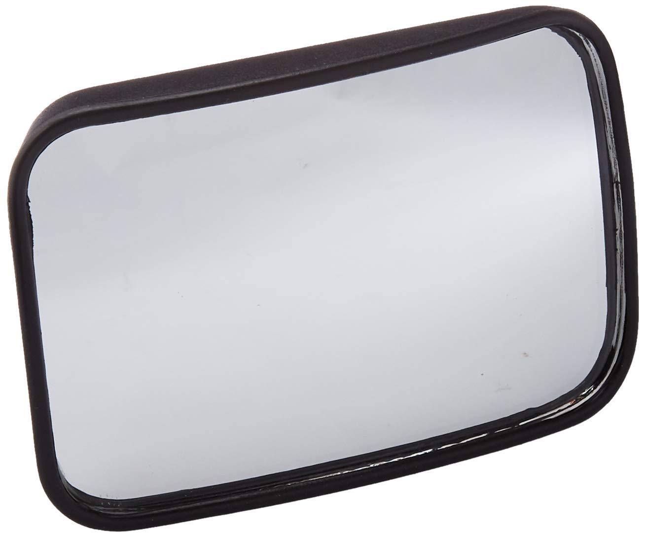 Pilot Automotive MI-007 Black Universal 2-1/2' X 3-3/4' Wedge Blind Spot Mirror, (Non-Carb Compliant)