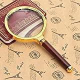 60mm 10X Handheld Magnifier Magnifying Glass Lens