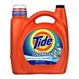Tide Coldwater High Efficiency Fresh Scent with Actilift, 150-Ounce (Pack of 4)