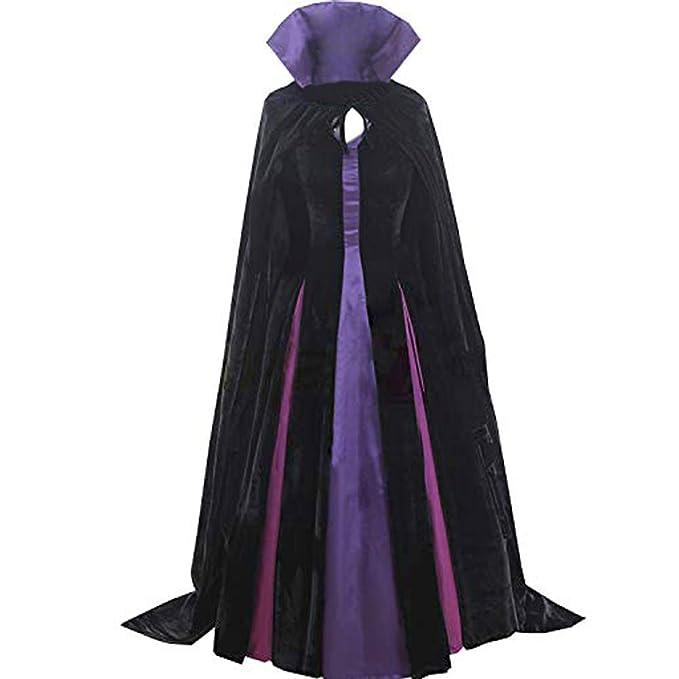 Amazon.com: AGLAYOUPIN - Vestido gótico negro para disfraz ...