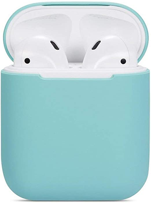 Momorain Para Apple Airpods One and Two Generations Funda de Silicona Universal Auriculares inalámbricos Caja de protección para Auriculares a Prueba de Agua: Amazon.es: Hogar