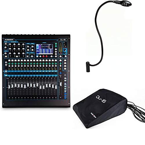 Allen & Heath QU-16 Digital Mixer with Dust Cover and LEDlamp